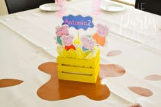 Peppa Pig Birthday Party Ideas | Photo 4 of 35 | Catch My Party