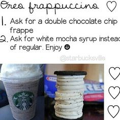 Starbucks secret menu!