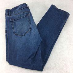 2bf6eb55d49 Ann Taylor Loft Jeans Size 28 6 Modern Straight Traditional 5 pocket   AnnTaylorLOFT