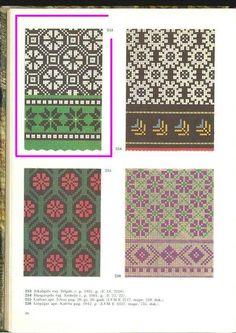 Knitting Machine Patterns, Knitting Charts, Knitting Stitches, Knitting Designs, Crochet Mittens Free Pattern, Knit Mittens, Fair Isle Pattern, Fair Isle Knitting, Tapestry Crochet