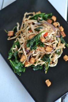 Lehtikaaliwokki Kale wok
