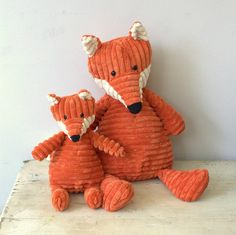 fox small soft toy by little ella james | notonthehighstreet.com
