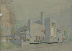 D. Greiner, Openbare Leeszaal en Bibliotheek, Betondorp, Amsterdam 1924-1928