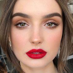 Make-up 14 Best Lipstick Brands Lip makeup bold Lip Makeup Brands lipstick Makeup Burgundy Makeup Look, Purple Makeup Looks, Vintage Makeup Looks, Soft Makeup Looks, Glitter Makeup Looks, Red Lips Makeup Look, Makeup Looks For Brown Eyes, Glam Makeup Look, Fall Makeup Looks