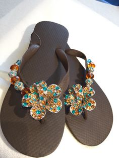 Ibiza ~Flipinista® The ultimate in hand crafted luxury flip flops! 312-399-2468
