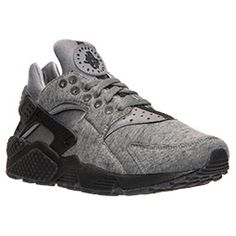 promo code dbe60 9306b Men s Nike Huarache Run Fleece Running Shoes   Finish Line Mens Grey Dress  Shoes, Gray