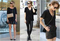 preto (all black)