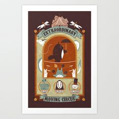 The Moving Circus - $16.00