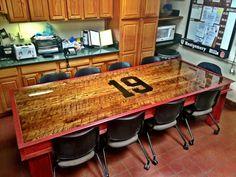 46 best station table images firemen wood projects fire department rh pinterest com