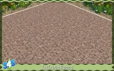 La Luna Rossa-Sims: Dirt and Tiny Stones • Sims 4 Downloads