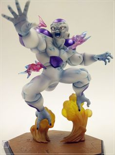 89.25$  Buy here - http://alimq4.worldwells.pw/go.php?t=32686416417 - MODEL FANS Dragon Ball Z Absolutely genuine BANDAI Figuartszero Frieza PVC figure toy Decoration 89.25$
