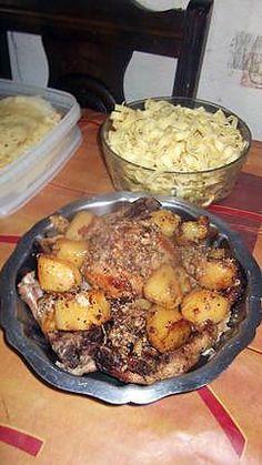 recette roti de porc au four ou autre selon le gout de chacun