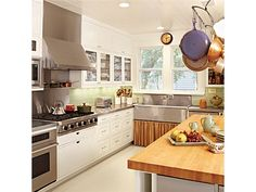 Chef White Kitchens - Home and Garden Design Idea's