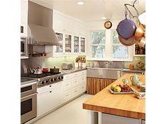 Chef White Kitchens - Home and Garden Design Idea's