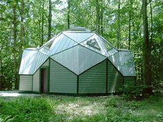 "Attēlu rezultāti vaicājumam ""geodesic dome roofing"""