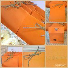 Handmade packing (mainsouris)