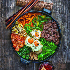 Try these healthy and satisfying Korean recipes you can easily make at home. You'll love these flavorful dishes that are nutritious and quick to make. Stay in and enjoy one of these mouth-watering meals.