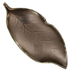 Bronze Leaf Tea Bag Caddy