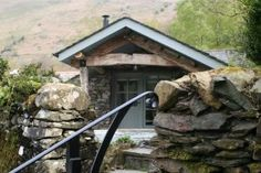 Luxury self-catered holiday accommodation in Patterdale, the Lake District. Converted cart barn, sleeps 2 in 1 bedroom. Wood burning stove. Free WiFi available.