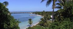 One of my favorite places to go; Bahia Honda State Park at Milepost 37 in the Florida Keys. It's a whole different world there.