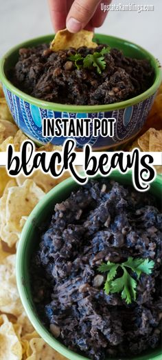 Cooked with onions, garlic & chipotle peppers in adobe sauce. No soaking or draining the beans. Veggie Recipes, Mexican Food Recipes, Real Food Recipes, Vegetarian Recipes, Healthy Recipes, Vegan Vegetarian, Easy Recipes, Instant Pot Pressure Cooker, Pressure Cooker Recipes