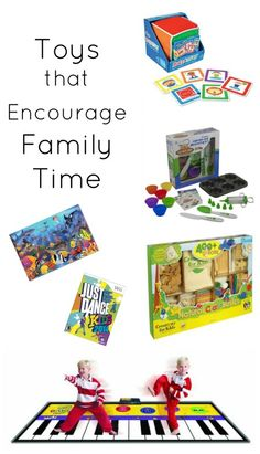 Gifts that Encourage Family Time...we love to give gifts that the whole family can enjoy together. These are our favorite ideas for toys and gifts that encourage us to slow down and spend more family time together.