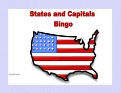This is a great way to review the states and their capitals. It can be used as an introduction by allowing the children to have a list of the states and their capitals or announcing the combination of the state and the capital at first. As they build their skills they can then rely on their memory to play the game. It also makes a great review or check of this skill. The students will enjoy this colorful game as they learn or review the states and their capitals.