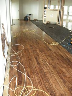Acacia Floors With Alder Cabinets   Framing Trouble In Paradise
