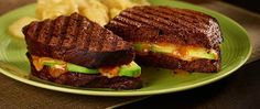 Bold 3 Pepper Colby Jack Cheese packs a punch between delicious avocado slices and a mango chutney spread.