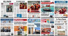Para estar informado CoverTimes las portadas de los periodicos de todo el mundo.