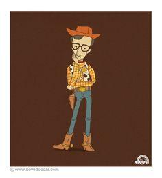 Woody Allen as Woody.
