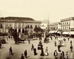 Marc Ferrez - Largo de São Francisco de Paula - 1895