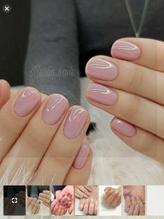 Semi-permanent varnish, false nails, patches: which manicure to choose? - My Nails Neutral Nails, Nude Nails, Pink Nails, My Nails, Stylish Nails, Trendy Nails, Classy Gel Nails, Chic Nails, Shellac Nail Colors