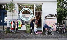 Vintage Kids has cool vintage and second-hand clothing for children.  Photograph: Ty Stange/Copenhagen Media Center.