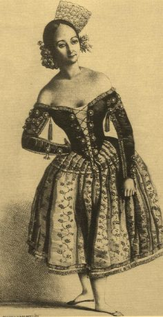 Dolores Serral | Lithograph from a drawing by Célestin Biard, c. 1835