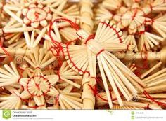 straw christmas ornaments - Google Search
