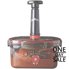 Today Only! 12% OFF this item. Today's Product   : DAILY DEAL - Today ONLY Jim Beam Vacuum Seal Marinade Box Buy now    http://www.coast2coastbargains.com/products/jim-beam-vacuum-seal-marinade-box?utm_source=Pinterest&utm_medium=Orangetwig_Marketing&utm_campaign=Daily%20Deal%20-%20SAVE%2012%25  #dailydeal #onsale #fallseason #trends watch our DAILY DEALS for  #boho #clothing #yogamats  #digital #speakers #Bluetooth #mens #bowties #hats#womens #kids #toys #freeshipping