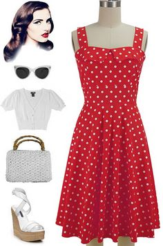 Brand New Color of our Peggy Sue Sun Dress in stock at Le Bomb Shop! Big Dot print on Red! Available in Plus Sizes only, $37 each with FREE U.S. s/h! Buy it here: http://lebombshop.net/products/peggy-sue-sun-dress-big-dot-in-red-white
