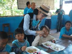 Chiangmai Wiangping #LionsClub (Thailand) provided lunch to children
