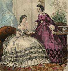 La Modes Illustree, September 1862