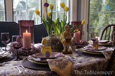 Spring Tablescapes-from The Everyday Home