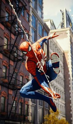 Does Spider-Man represent the future of narrative gaming? Does Spider-Man represent the future of narrative gaming? Spiderman Ps4 Wallpaper, Spiderman Art, Amazing Spiderman, Marvel Dc Comics, Marvel Heroes, Marvel Avengers, Stan Lee, American Comics, Marvel Characters