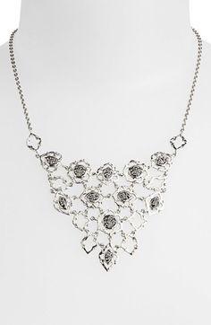 Lois Hill Granulated Bib Necklace available at #Nordstrom