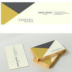 """""""Mi piace"""": 40, commenti: 1 - gosmartpress.com (@gosmartpress) su Instagram: """"Business card @Nishyda jewellery #gosmartpress #brand #brandingdesign #bigliettodavisita…"""""""