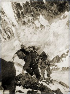 Mt. Everest. Circa 1953