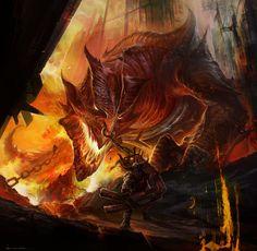 Fire Dragon | Fire Dragon by DONGJUN1987