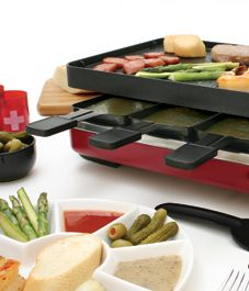All about raclette - note to heat, oil and lightly salt the stone ~ 25mins. in…