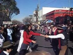Veronica joins in the dancing at a cowboy festival in Argentina! How'd she do? Feria de Mataderos in Buenos Aires!
