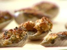 Get Baked Clams Oreganata Recipe from Food Network