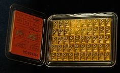 I AM A VERY STRONG, POWERFUL MULTI MILLION DOLLAR MONEY MAGNET NOW...I AM WEALTHY, HEALTHY, AFFLUENT AND VERY VERY HAPPY NOW...THANK YOU UNIVERSE!... the Valcambi Gold CombiBar Card